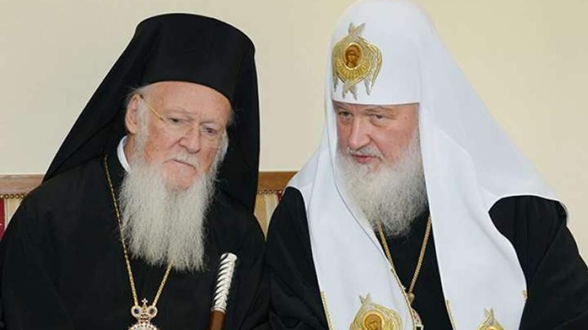 """В Московском патриархате сказали, что Константинополь """"аннексирует УПЦ, как Крым"""""""