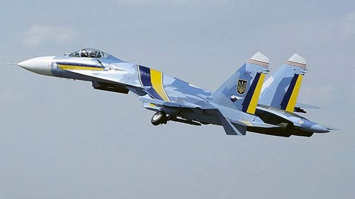 Падіння літака Су-27: загинули 2 пілоти
