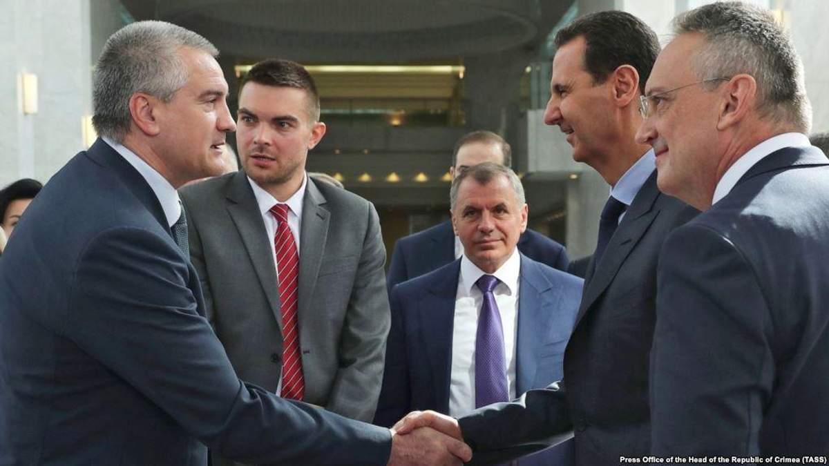 Аксенов встретился с Асадом: Украина пока не отреагировала