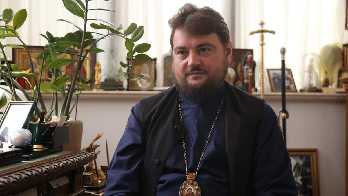 Архієрей МП Олександр Драбинко заявив, що його можна вважати кліриком Константинополя