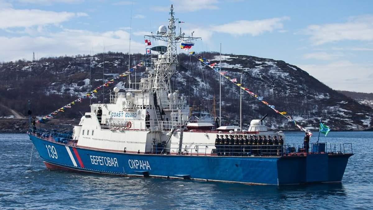 """Росія перекидає до Азовського моря два кораблі берегової охорони ФСБ проекту """"Світляк"""""""