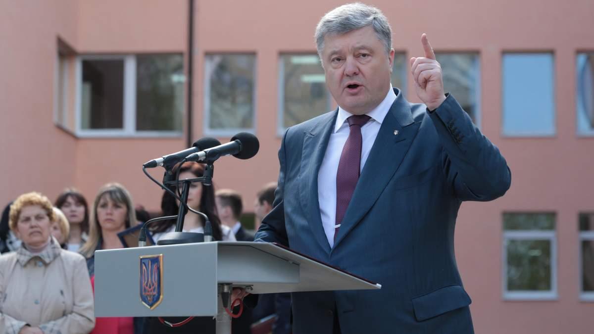 Петро Порошенко зробив гучну заяву на адресу Путіна
