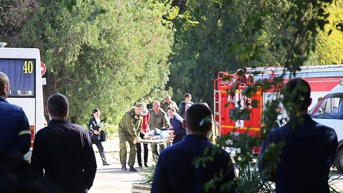 Теракт в Керчи