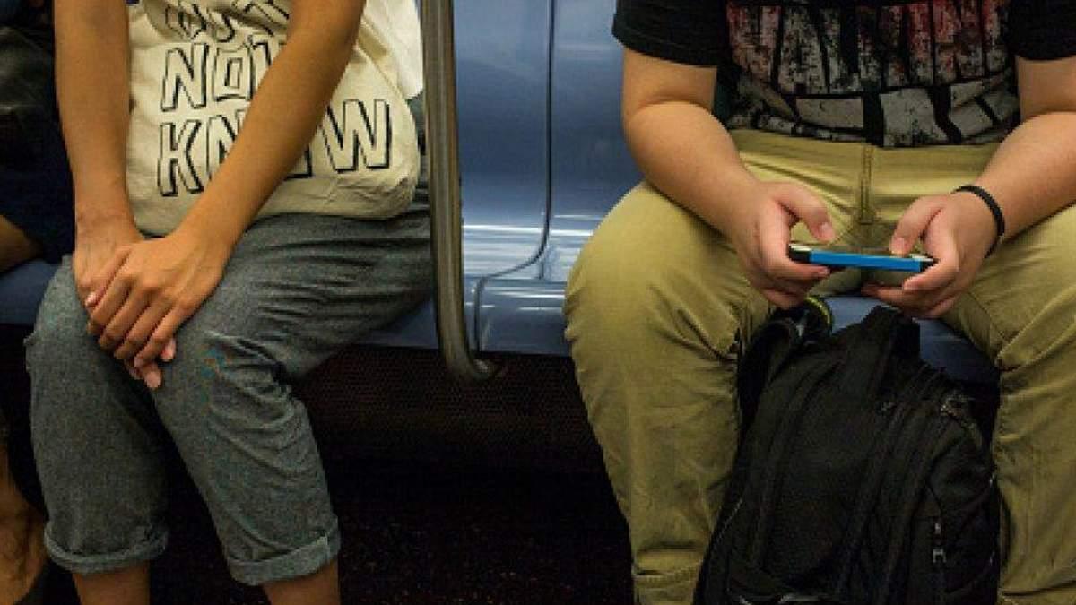 Культура поїздок у громадському транспорті – тримайте ноги разом