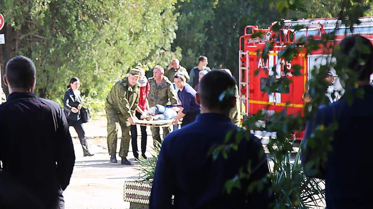 Массовое убийство в колледже в Керчи