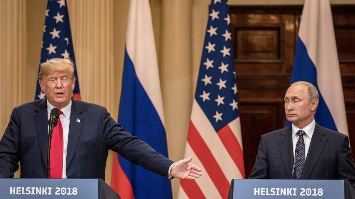 """""""Наїзди"""" Трампа на Путіна: позиція чи поза?"""