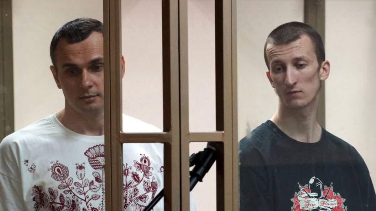 Олег Сенцов ответил на письмо своего товарища Александра Кольченко