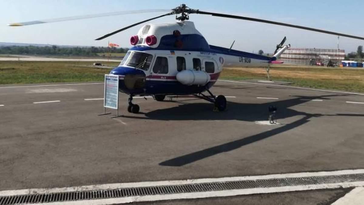 Ми-8 попал во флот Берлинской вертолетной службы