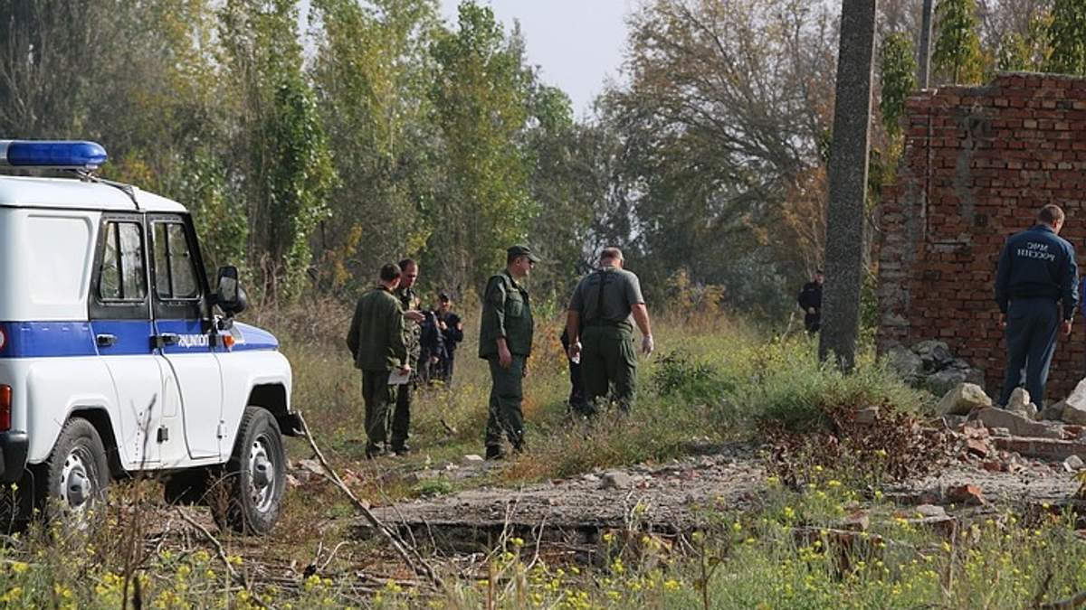 Массовое убийство в Керчи: стрелок перед нападением сжег личные вещи