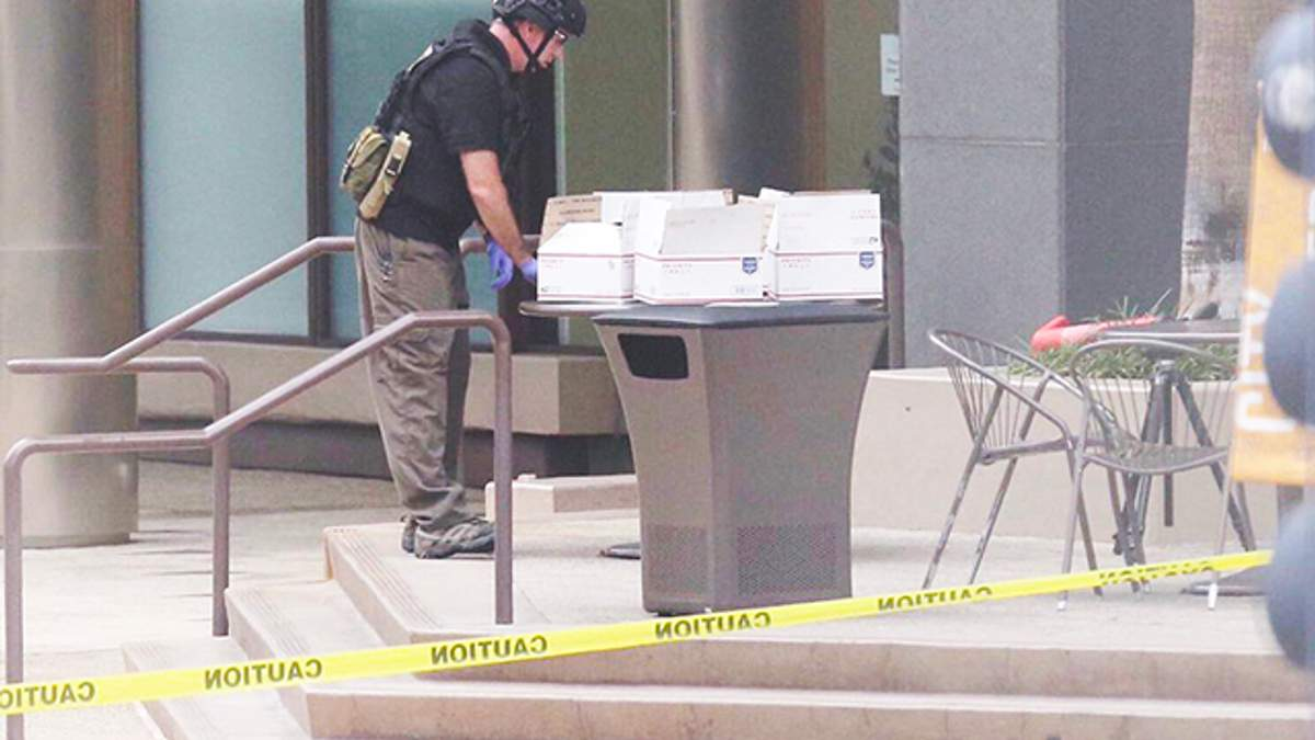 В редакции San Diego Tribune нашли подозрительный пакет: людей эвакуировали