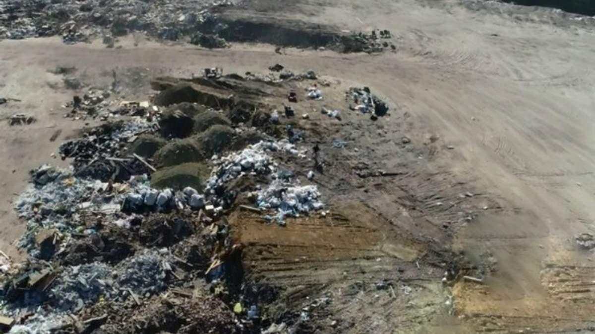 8 гектарів відходів та гори мотлоху: у Харкові виявили нелегальне сміттєзвалище