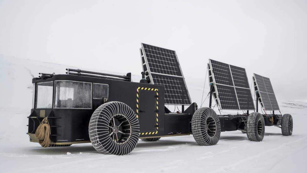 Нідерландська пара відправиться на машині на сонячних батареях на Південний полюс