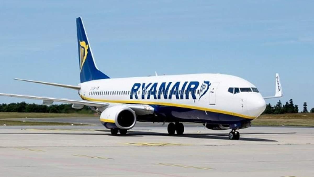 Віднині Ryanair запускає шість рейсів до Європи