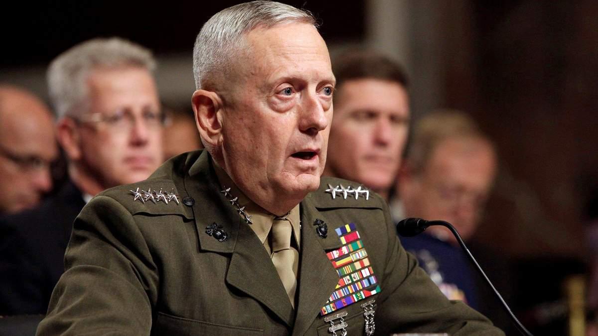 США проводять консультації з союзниками щодо виходу з ракетного договору з Росією, – Меттіс