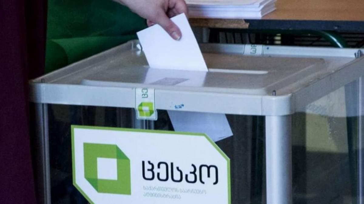 Кандидатов в президенты Грузии ждет второй тур выборов