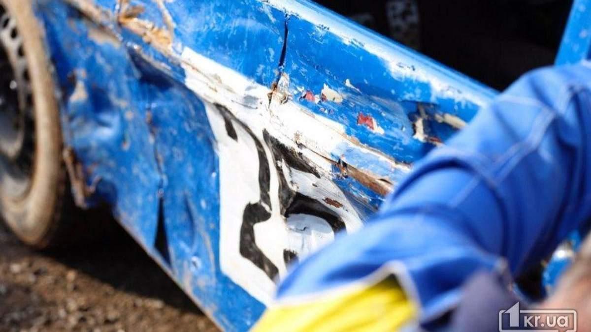 В результате ДТП на гонках в Кривом Роге пострадали двое детей