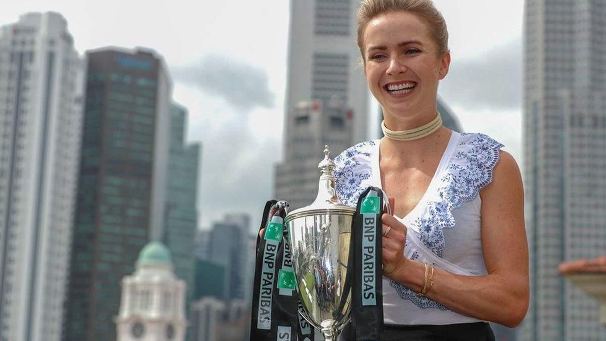 Элина Свитолина снова четвертая ракетка мира