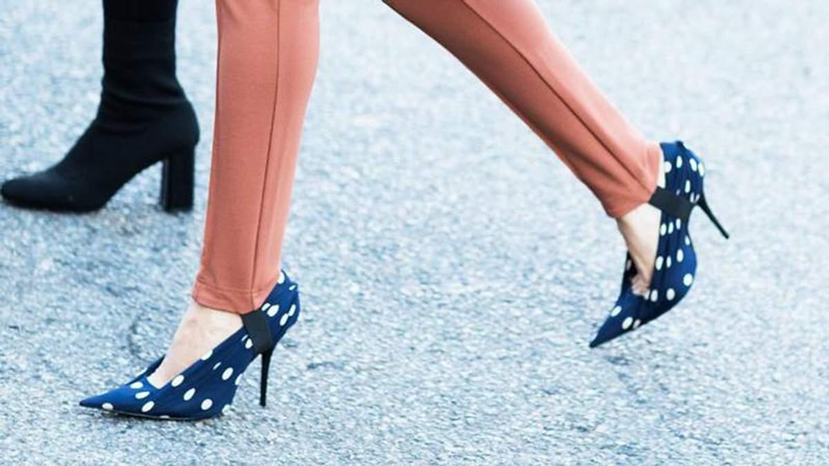 Як носити взуття на каблуках
