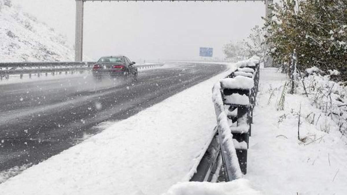 Снігопад в Іспанії
