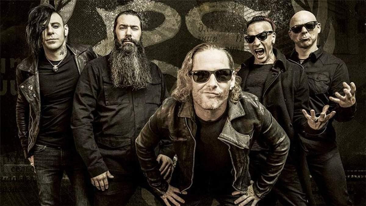 Гурт Stone Sour вперше виступить в Києві