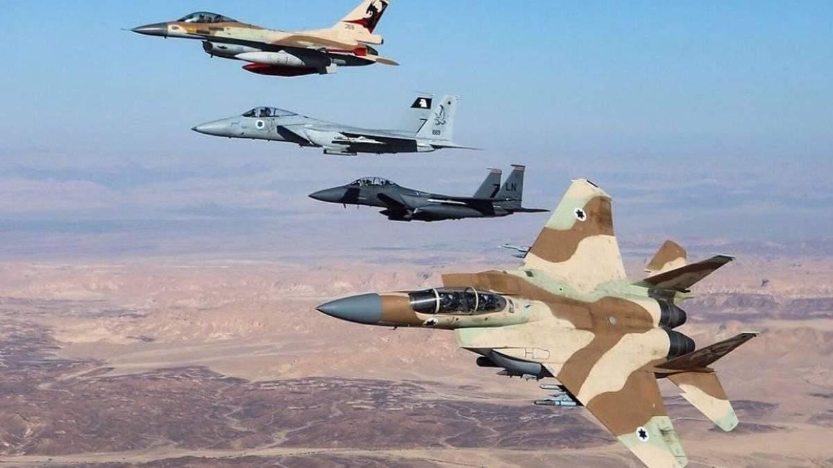 Ізраїль продовжив завдавати ударів по цілях у Сирії навіть після катастрофи російського літака Іл-20