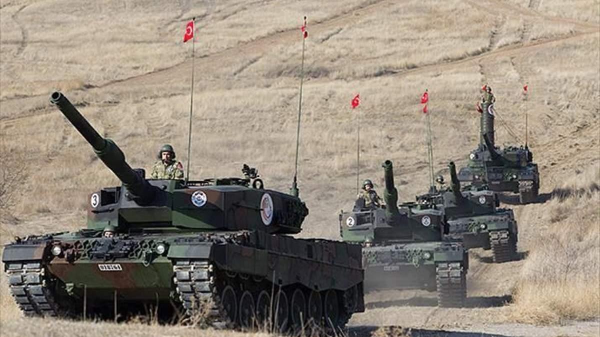 Туреччина готує масштабну військову операцію в Сирії