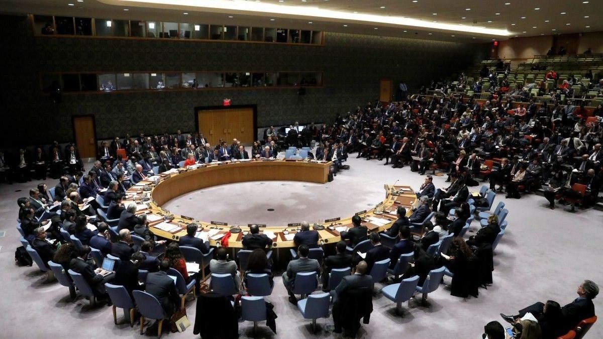 Росії не вдалось організувати виступ представника окупаційної влади у Радбезі ООН