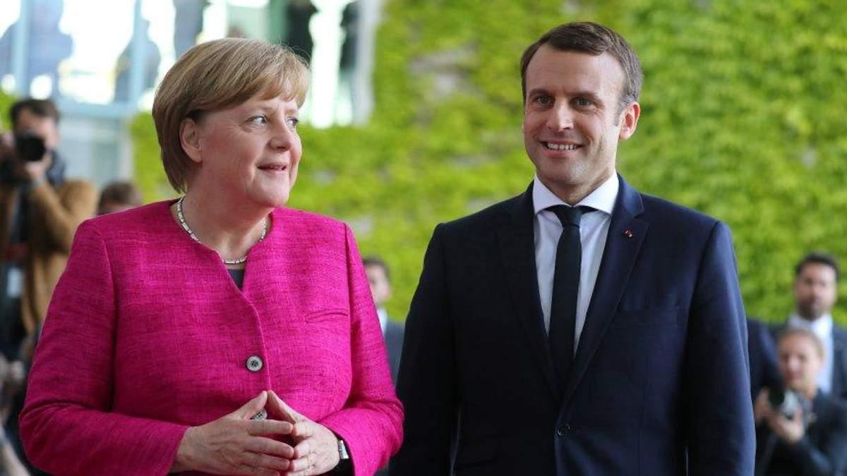 """После ухода Меркель от власти """"надеждой Европы"""" станет Макрон"""