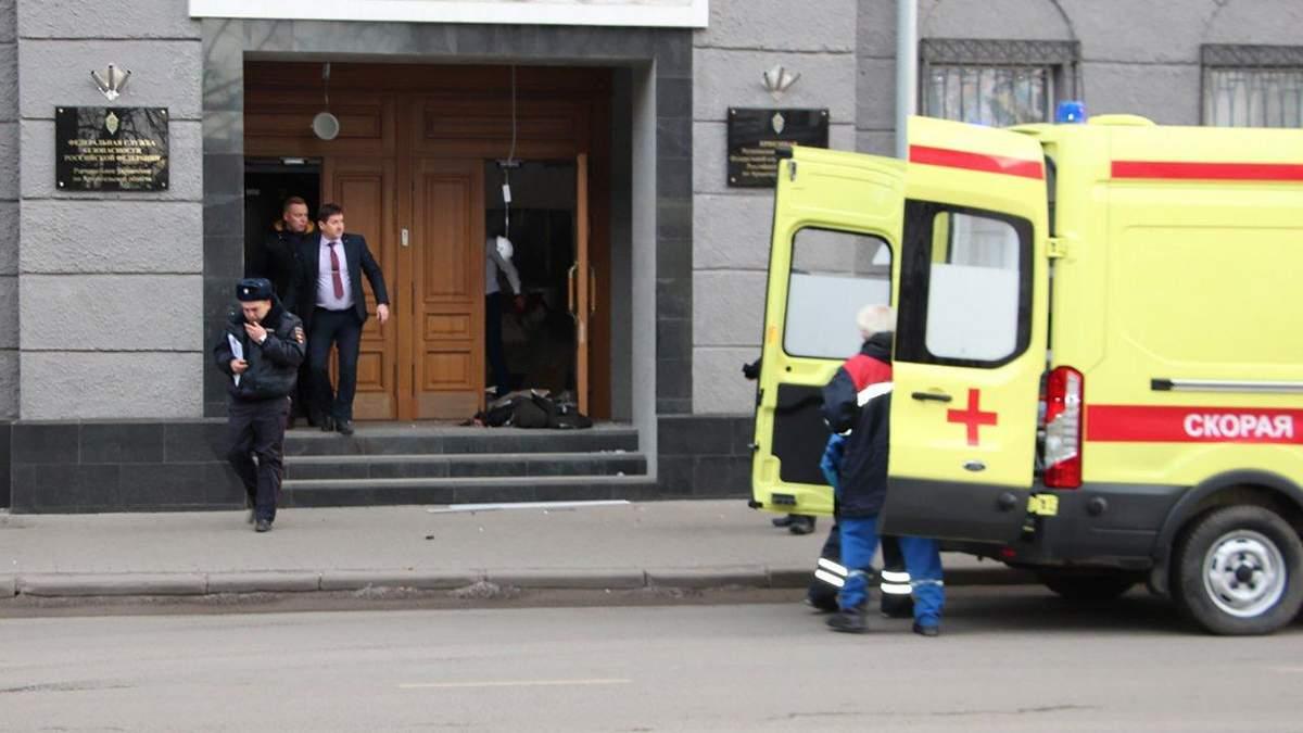 Вибух у будівлі ФСБ в Архангельську
