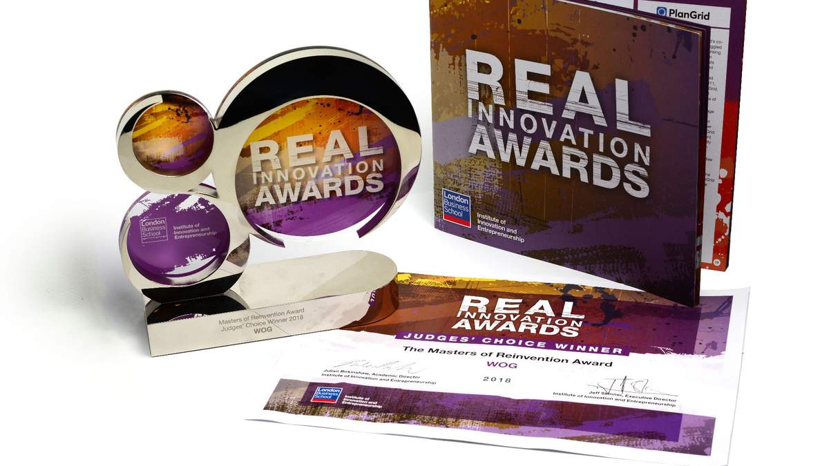 Премия Real Innovation Award 2018.