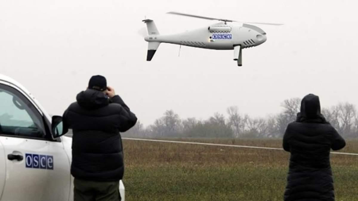Над окупованою Луганщиною обстріляно безпілотник СММ ОБСЄ