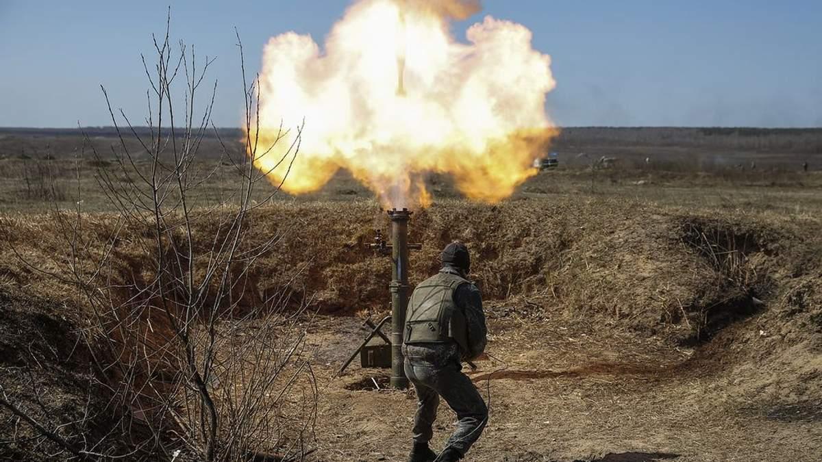 Ситуация на Донбассе: боевики применили запрещенные минометы