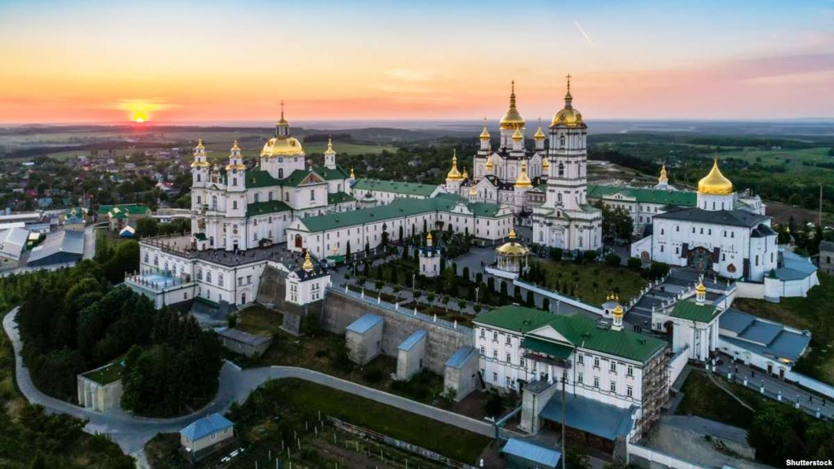УПЦ МП отримала в користування споруди Почаївської лаври до 2052 року