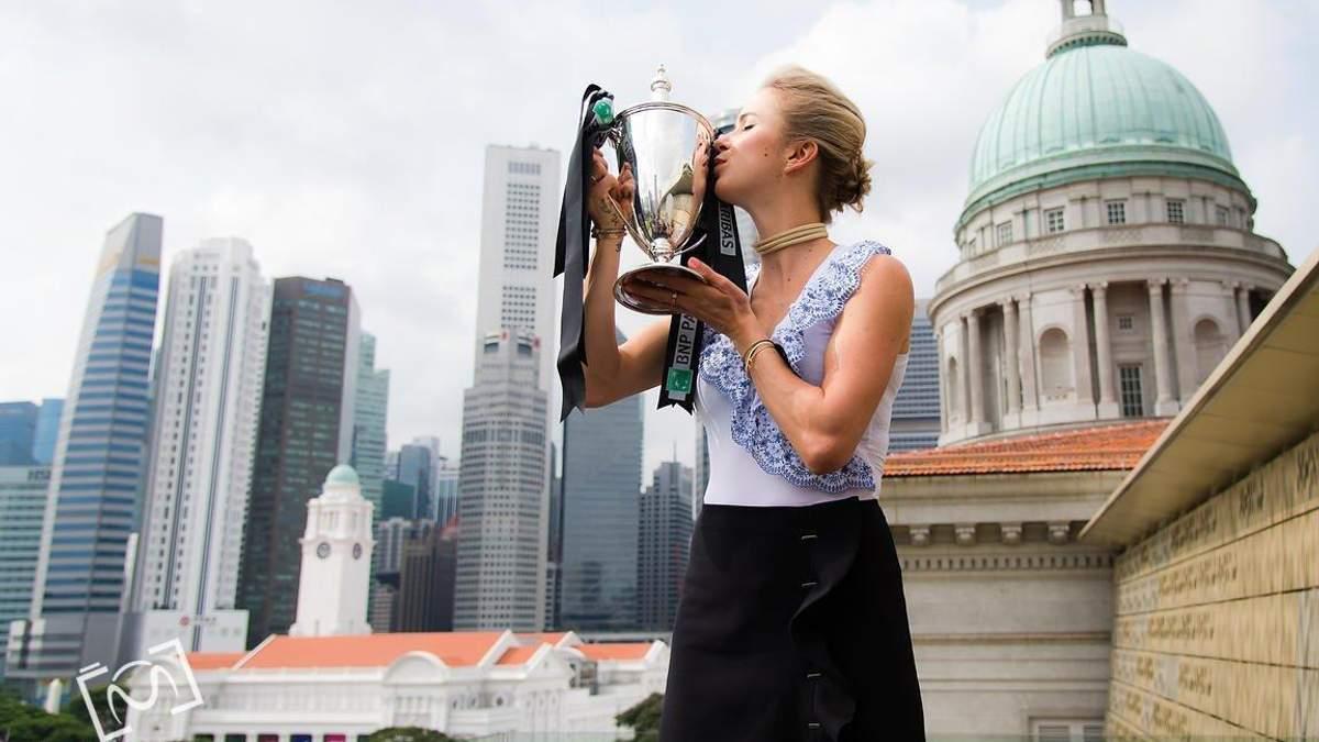 Еліна Світоліна виграла чотири титули у 2018 році