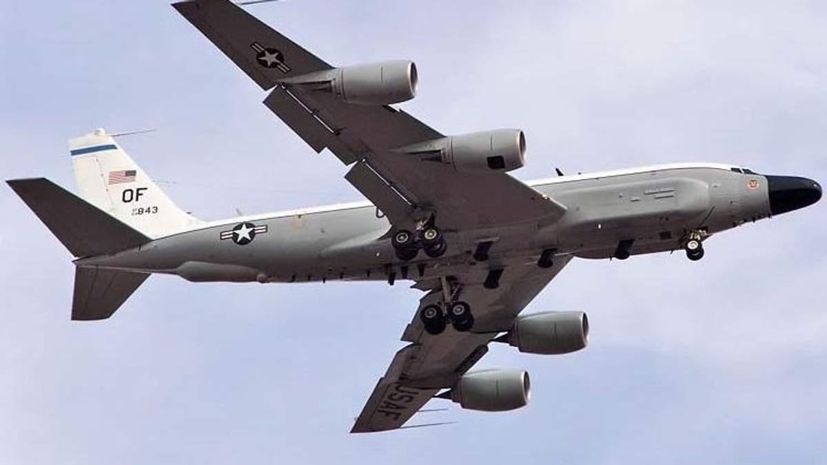 Самолет-разведчик США совершил разведку у российских границ
