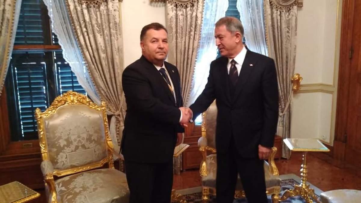 Полторак встретился с турецким коллегой