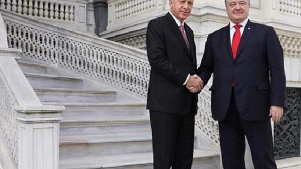 Эрдоган заверил, что Турция никогда не признает Крым российским
