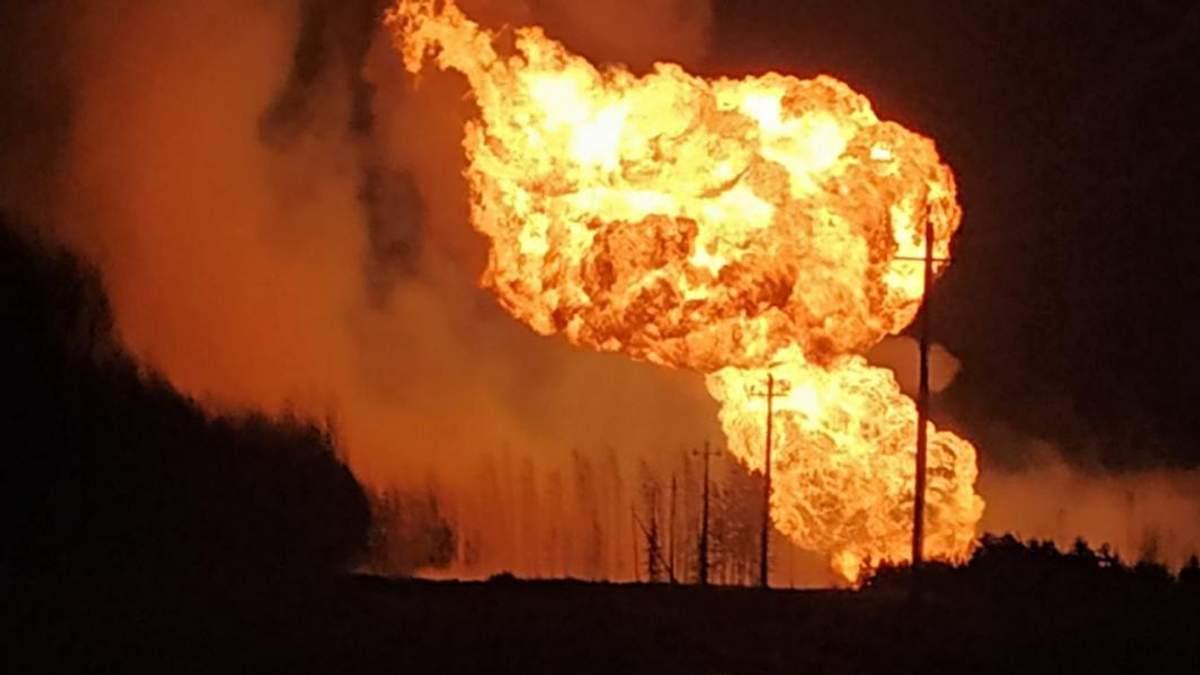 Аварія на газопроводі сталася у Росії: промовисті фото та відео пекельної ситуації