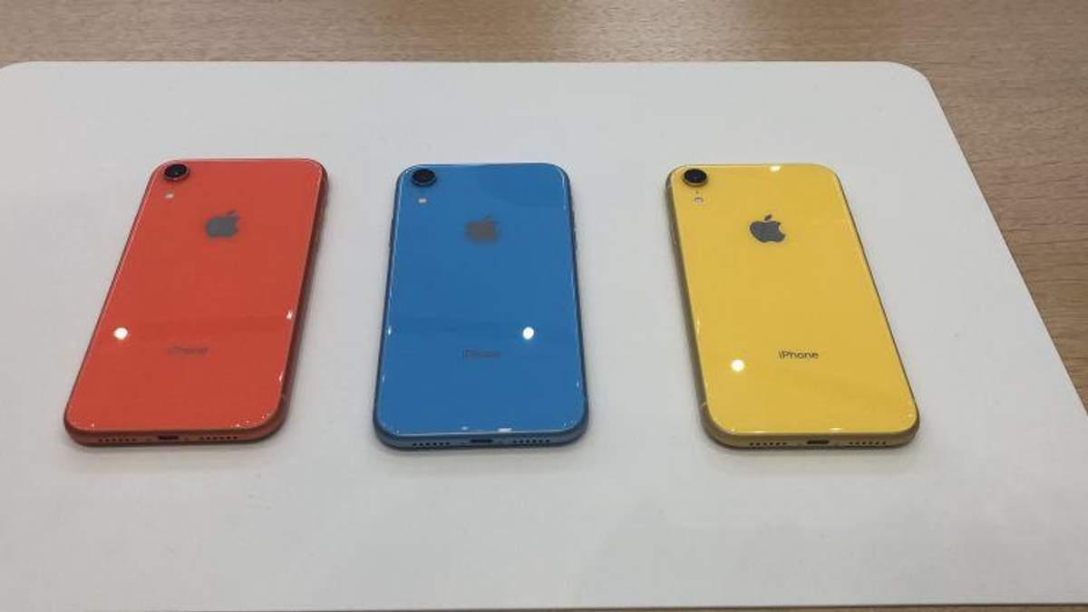 iPhone Xr не так добре продається, як планувала Apple
