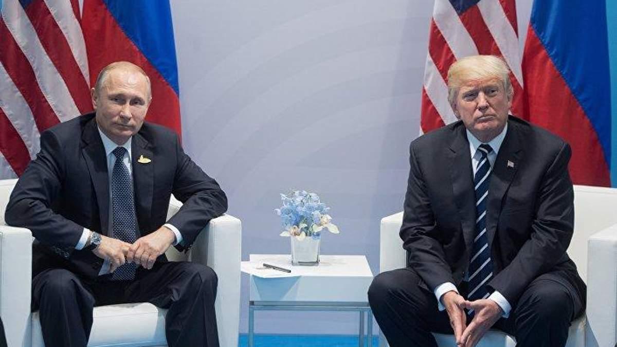 Зустріч Трампа та Путіна в Парижі не відбудеться: заява Кремля
