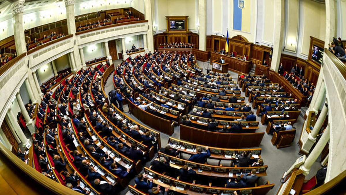 Украинские силовики отчитаются в Раде о расследовании нападений на активистов