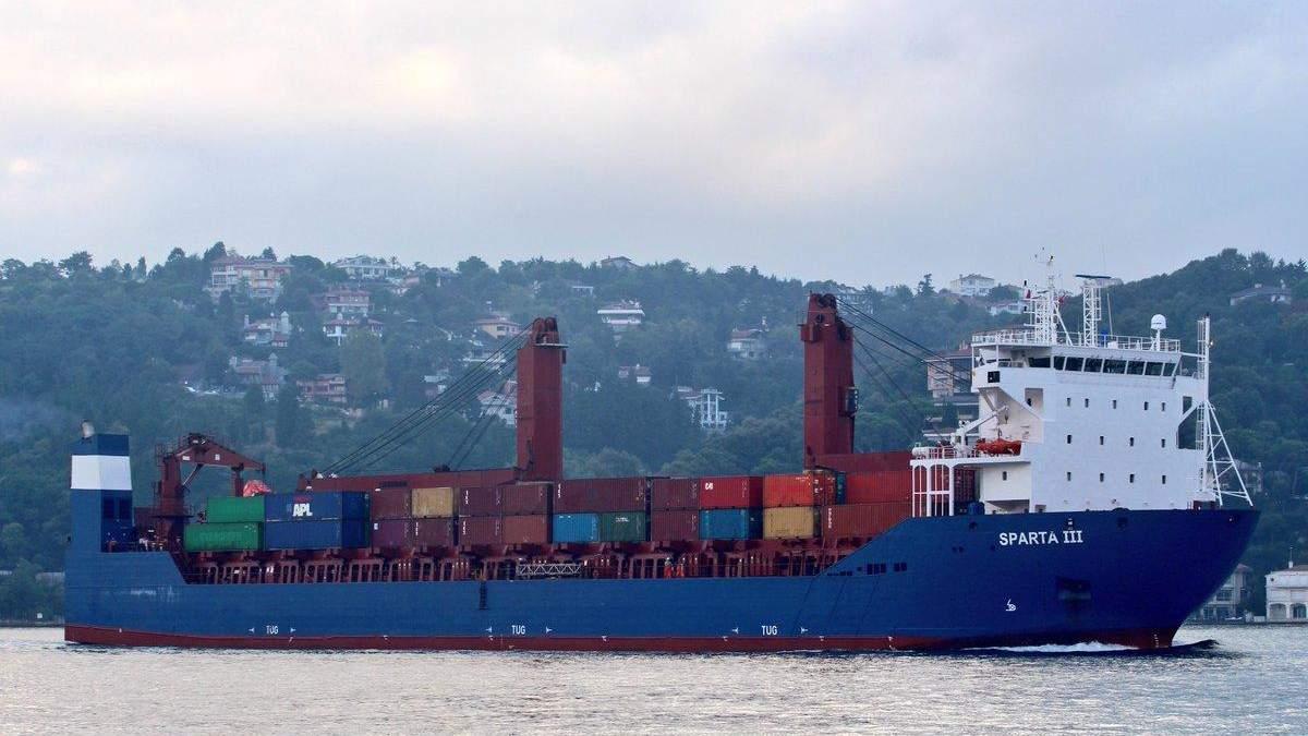 Корабли России тайно переправляют оружие через территориальные воды Дании,