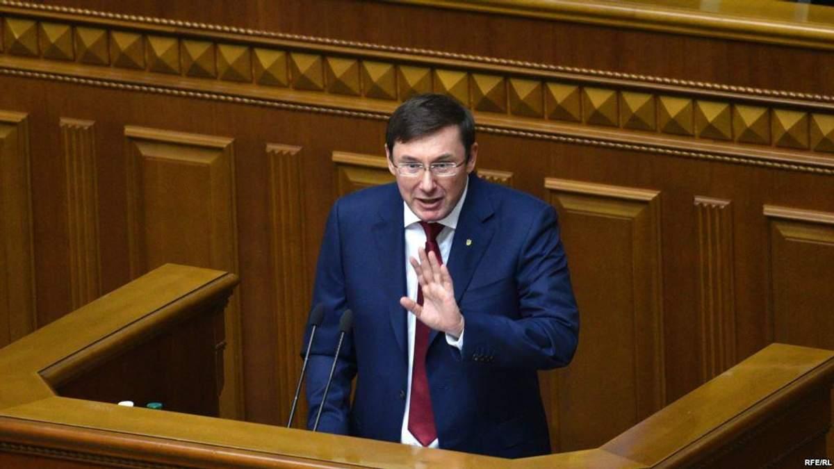 Лещенко объяснил, для чего Порошенко нужна отставка Луценко