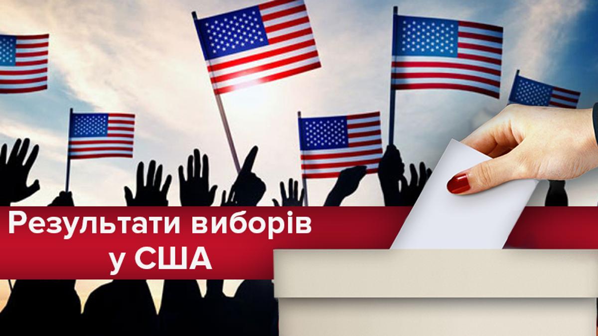 Выборы в США 2018: результаты выборов в Конгресс США