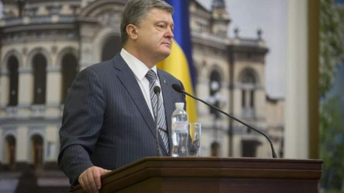 Порошенко заявил, что РПЦ и ВС РФ нечего делать в Украине