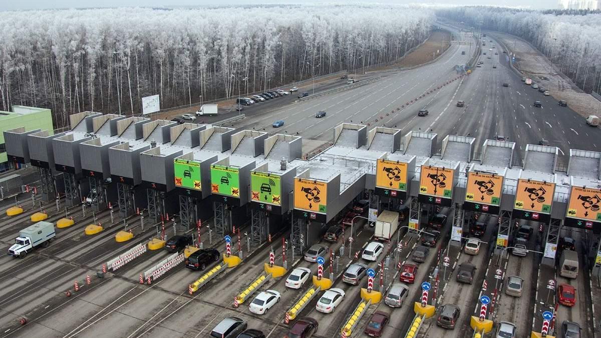 Перша платна дорога в Україні