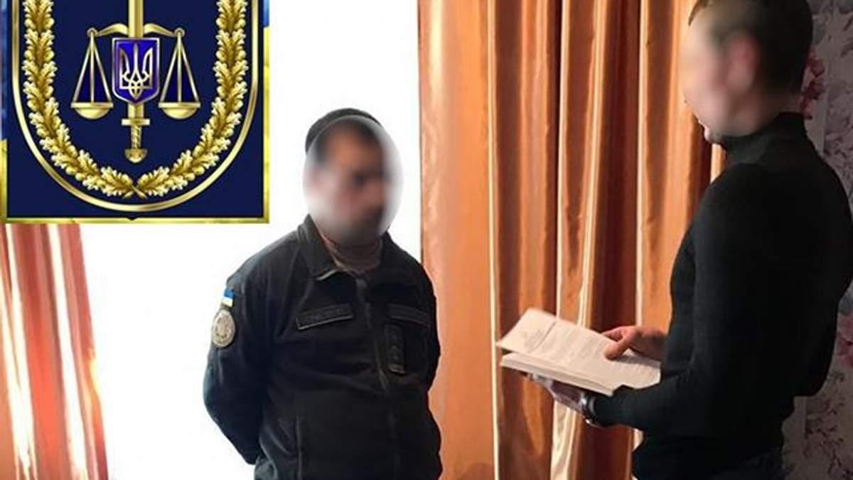 Полковника ЗСУ спіймали на хабарі: фото