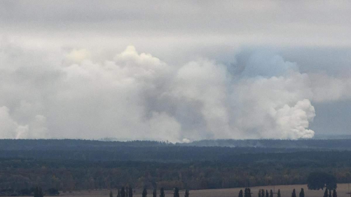Прокуратура встановила причини вибухів на артскладах в Ічні