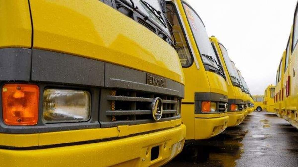 Забастовка водителей в Тернополе