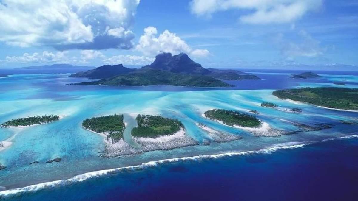Большое количество островов ушло под воду из-за климатических изменений: смотрите видео